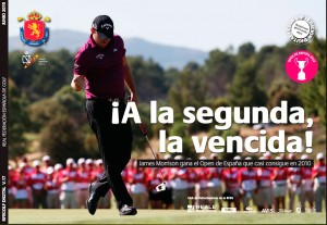 Portada revista digital de golf