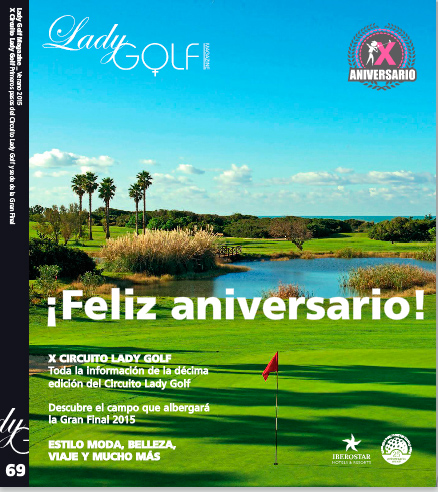Revista de golf femenino ladygolf