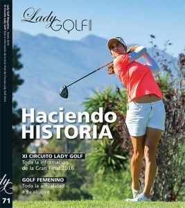 Portada revista Lady Golf
